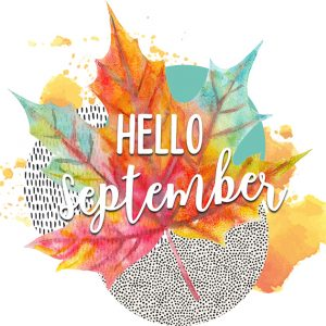Hello September Digital Planner Sticker | @DigiPlannerCentral
