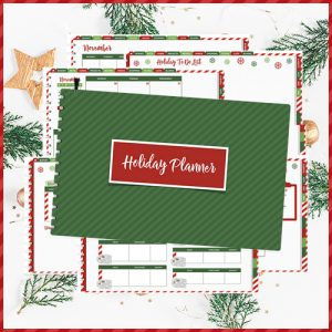 Free Holiday Christmas Digital Planner | @DigiPlannerCentral