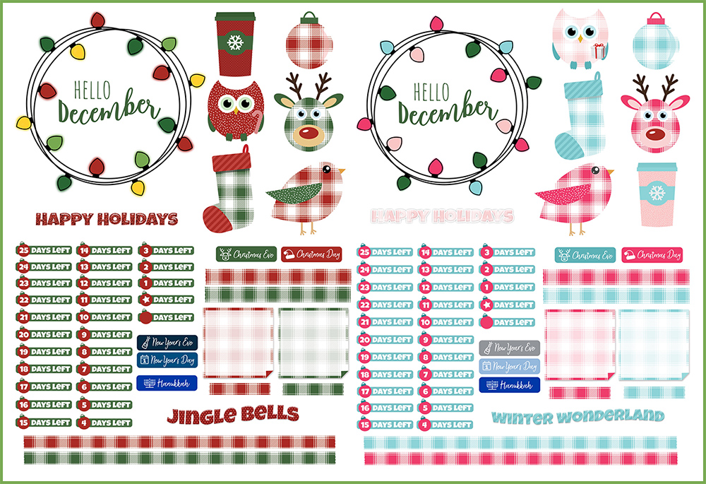 graphic relating to Freebie Planner identify December Electronic Planner Freebies DigiPlanner Central