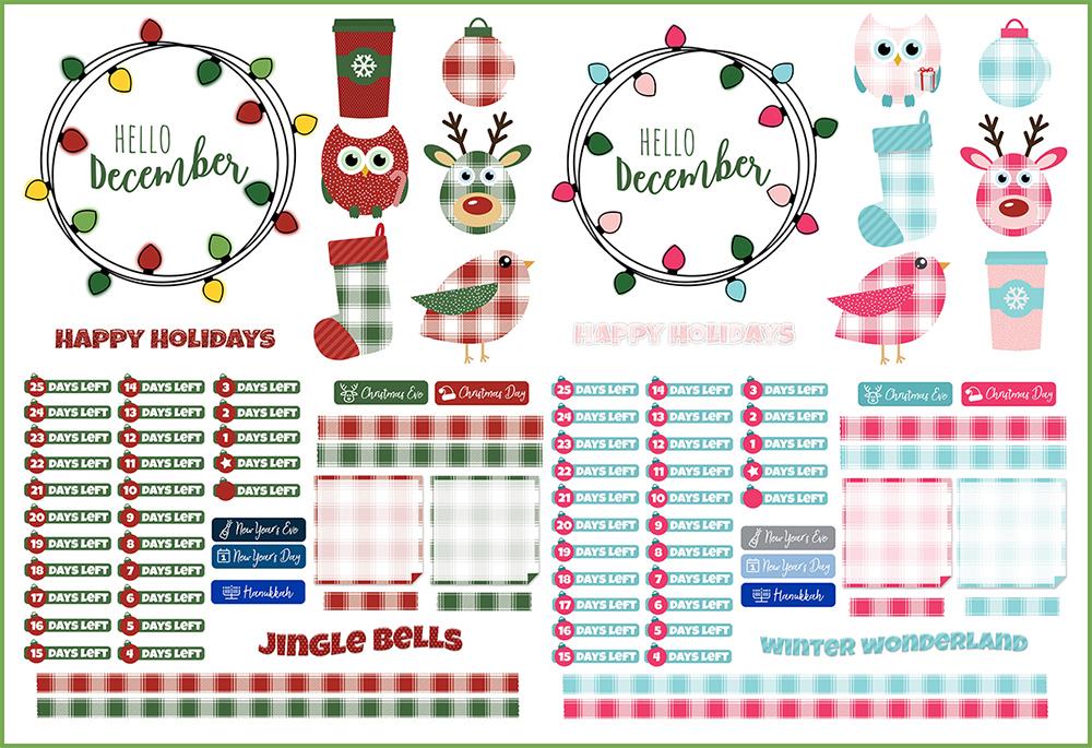December Digital Planner Freebies | @DigiPlannerCentral