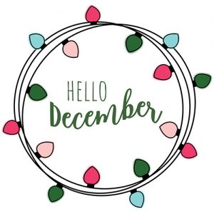 Hello December Digital Planner Sticker