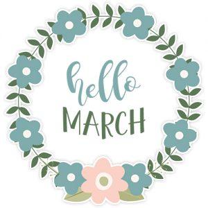 March Digital Planner Sticker Freebies | @DigiPlannerCentral