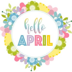 April Digital Planner Sticker Freebies | @DigiPlannerCentral