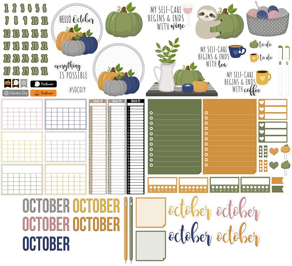 October Digital Planner Sticker Freebies | @DPCDIgitals