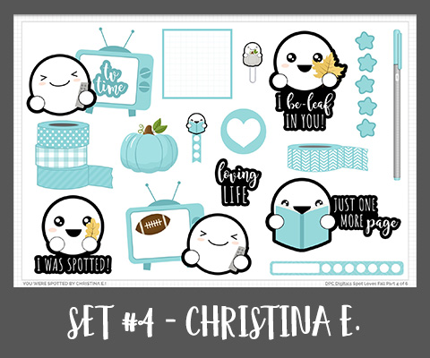 Spot Promo Set Four September - Christina E.