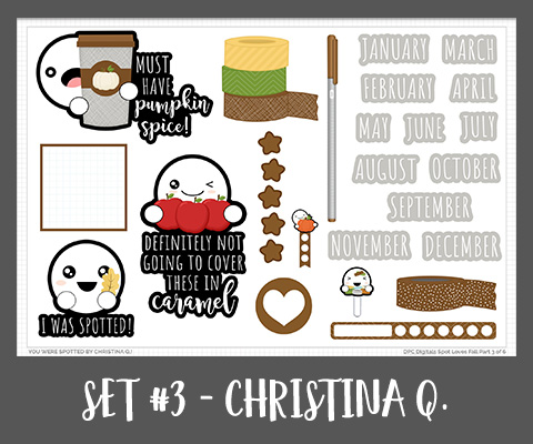 Spot Promo Set Three September - Christina Q.