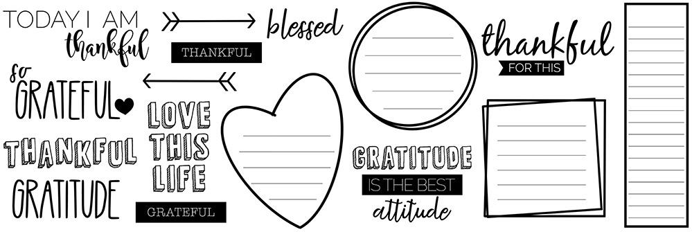 Grateful Freebie Digital Stickers | @DPCDigitals