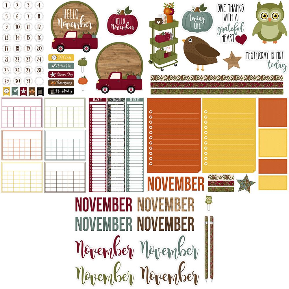 November Digital Planner Sticker Freebies | @DPCDIgitals