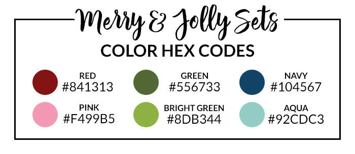 Merry and Jolly Hex Codes