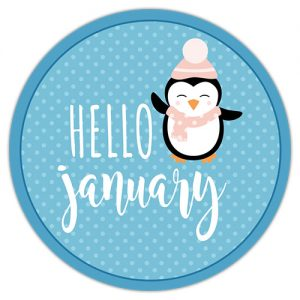 DPC Digitals January Freebie Sticker Set