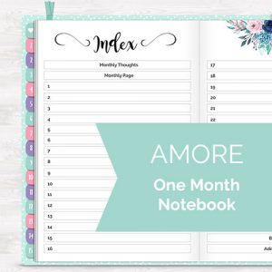 DPC Digitals February One Month Digital Planner Freebie