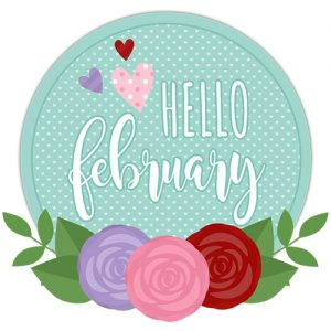 DPC Digitals February Freebie Sticker Set