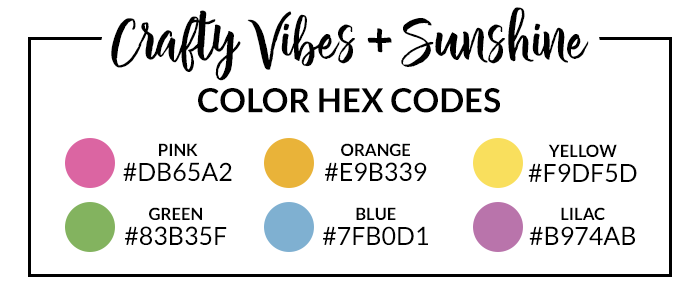 Crafty Vibes Hex Codes