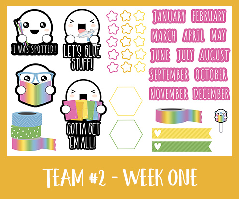 Get Spotted Set | March 2020 | Team Two Week One