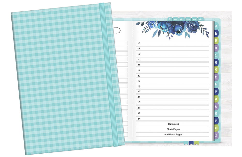DPC Digitals April One Month Digital Planner Freebie