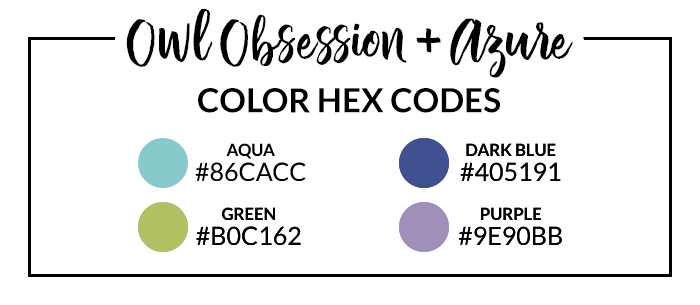 Owl Obsession & Azure Hexcodes | @DPCDigitals