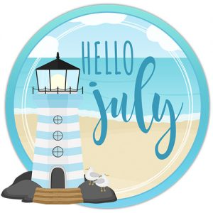 DPC Digitals July Freebie Sticker Set