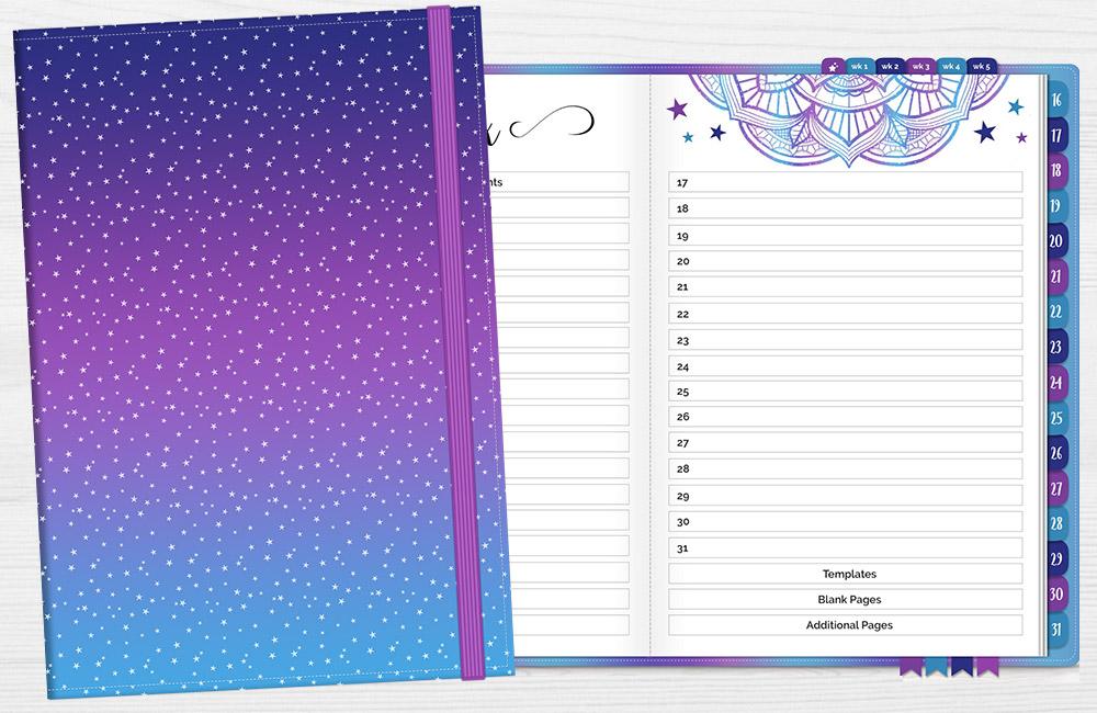 DPC Digitals August One Month Digital Planner Freebie