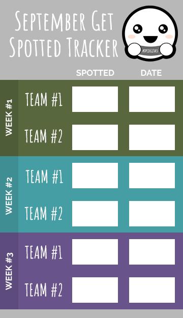 September Get Spotted Tracker @DPCDigitals