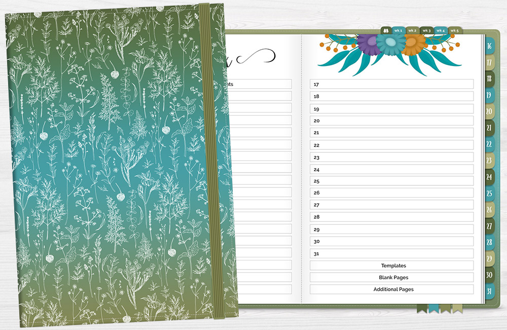 DPC Digitals September One Month Digital Planner Freebie