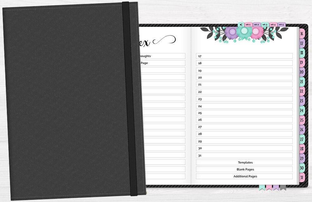 DPC Digitals October One Month Digital Planner Freebie