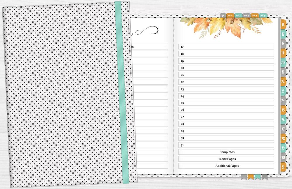 DPC Digitals November One Month Digital Planner Freebie