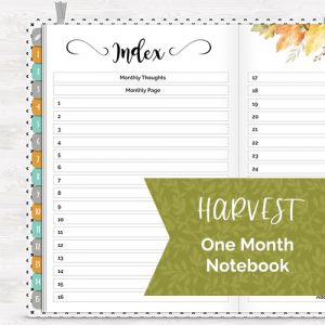 DPC Digitals November One Month Digital Planner Freebie