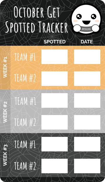 October Get Spotted Tracker @DPCDigitals