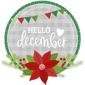 DPC Digitals December Freebie Sticker Set
