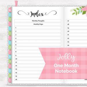 DPC Digitals December Jolly One Month Digital Planner Freebie