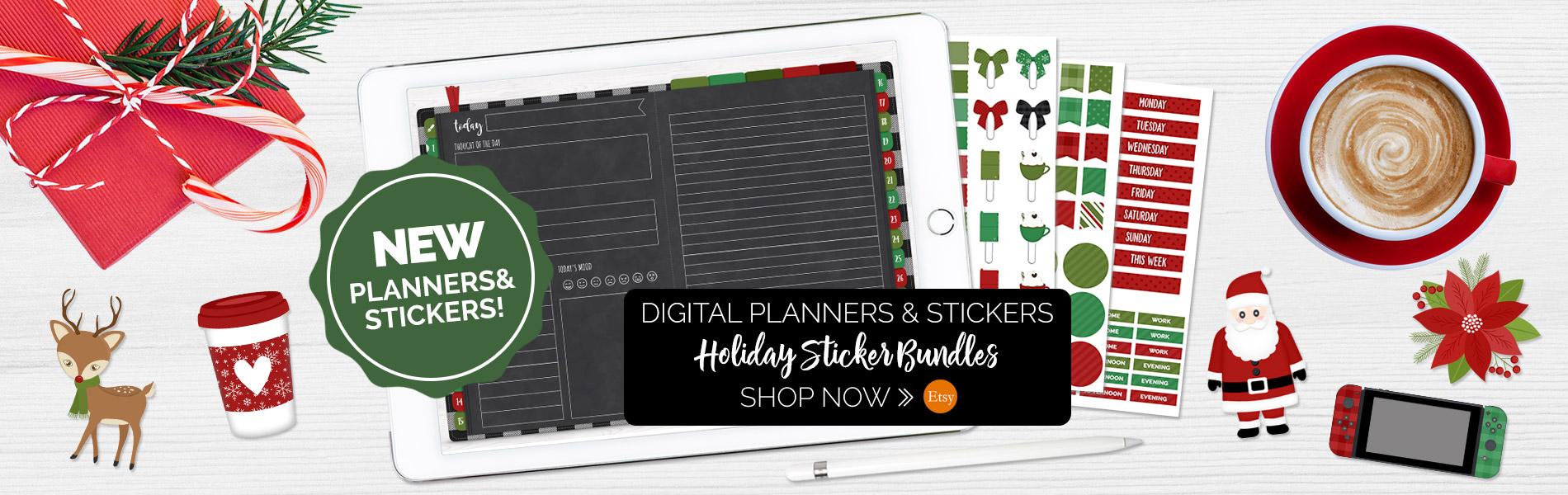 DPC Digitals Holiday Digital Sticker Sets