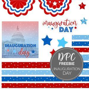Inauguration Day Digital Stickers Freebie | @DPCDigitals