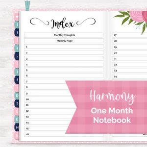 DPC Digitals February Harmony One Month Digital Planner Freebie