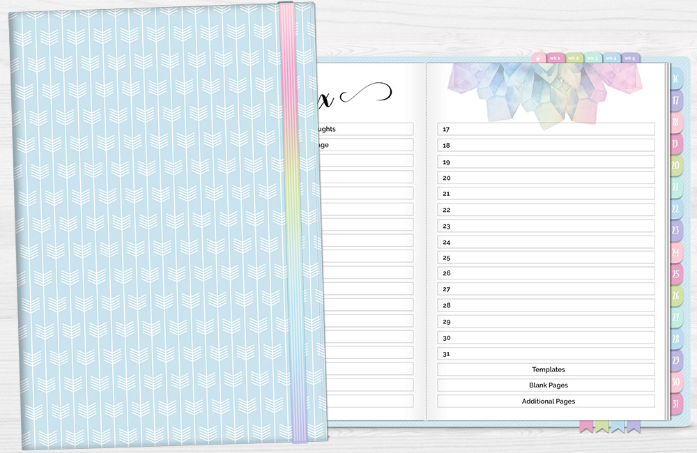 DPC Digitals May Whimsy One Month Digital Planner Freebie