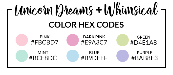 Whimsical Hex Codes