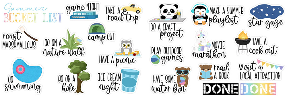 DPC Summer Bucket List Freebie | @DPCDigitals