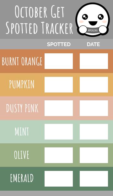 Get Spotted Tracker | October 2021 | @DPCDigitals